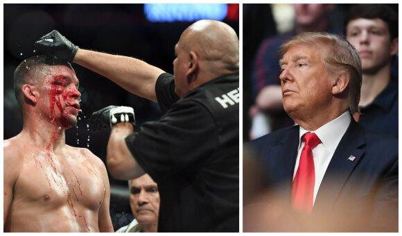 Nate'as Diazas ir Donaldas Trumpas