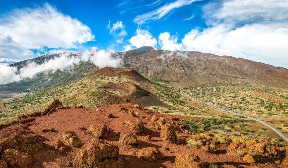 Mauna Kėja – snaudžiantis ugnikalnis Havajų saloje