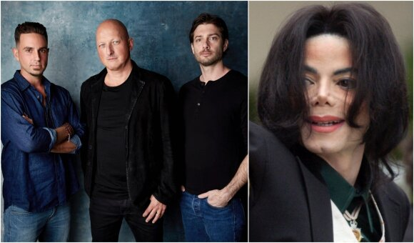 Wade Robson, Dan Reed, James Safechuck ir Michaelas Jacksonas