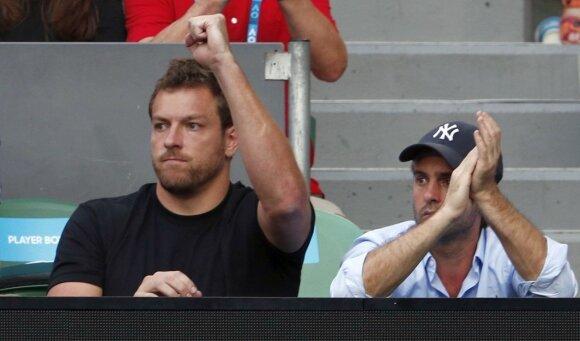 """NBA čempiono palaikymas padėjo: įspūdingame """"Australian Open"""" finale – Wozniacki triumfas"""