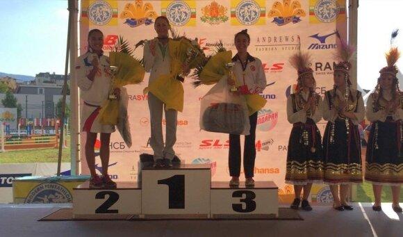 Pareiškimas prieš Rio: L. Asadauskaitė – vėl Europos čempionė!