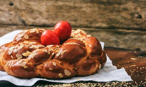 """""""Tsoureki"""" duona"""
