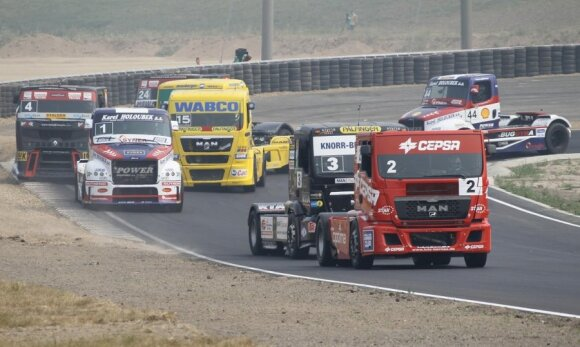 Europos sunkvežimių lenktynės