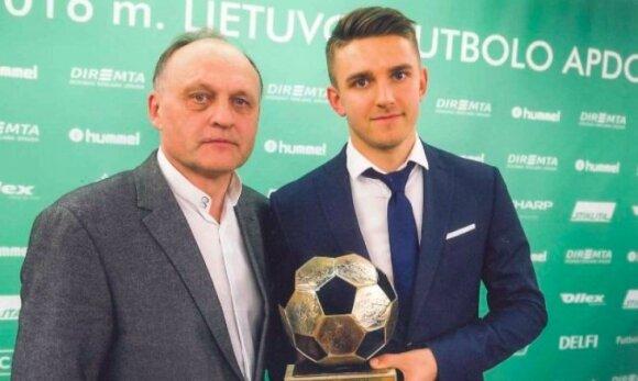 Kęstutis Paknys (kairėje), Fiodoras Čenychas