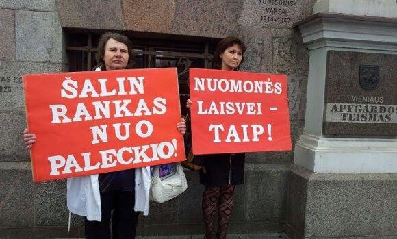 Šnipinėjimu įtariamo Paleckio biografijoje – ne šiaip Kremliaus pėdsakai: jam tarsi kažkas nuspaudė mygtuką