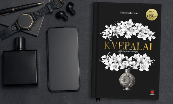 """Rekordai Lietuvos parfumerijos statistikoje ir kuo ypatingas J. Statkevičiaus """"Eau deParfum"""""""