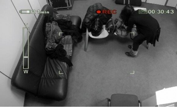 I.Jurgelevičiūtės vagystė užfiksuota kameromis