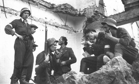 Varšuvos sukilimo dalyviai