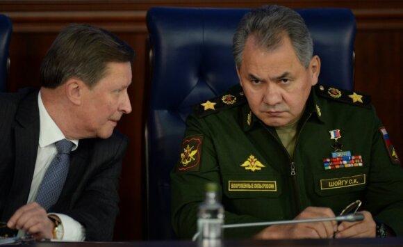 Rusijos gynybos ministro lėktuvą lydėjo iš Šiaulių kilę NATO naikintuvai