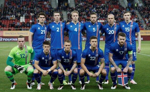 Islandijos futbolo rinktinė