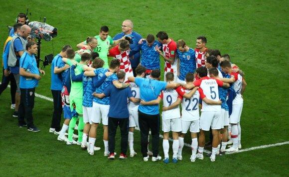 Kroatų treneris po finalo: leiskite man pasakyti vieną sakinį teisėjui