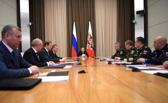 Naujas ir slaptas Putino branduolinis bunkeris: kam kalnuose ruošiasi Rusija