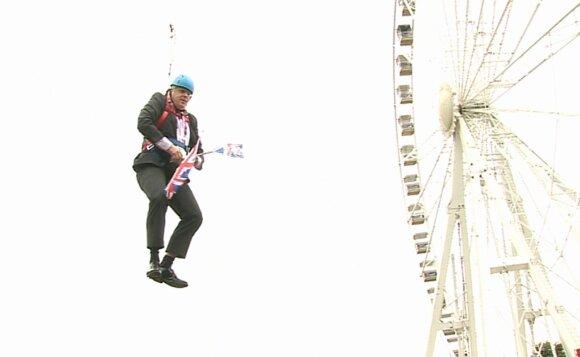 Išraiškingiausios Boriso Johnsono akimirkos