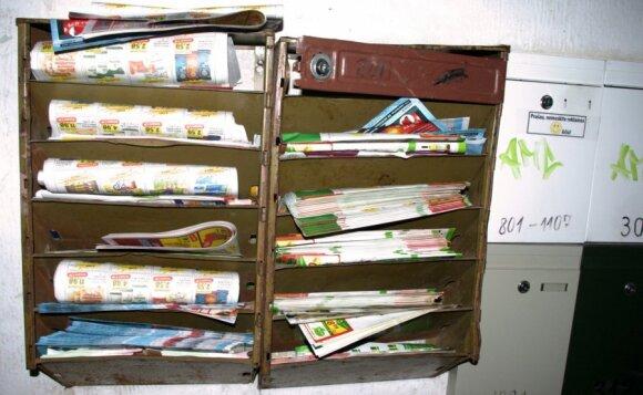 Reklama pašto dėžutėse