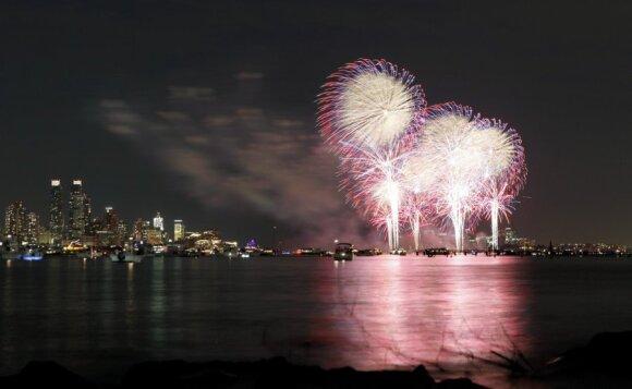 JAV švenčia Nepriklausomybės dieną