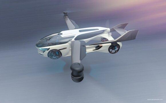 Aeromobil vizualizacija