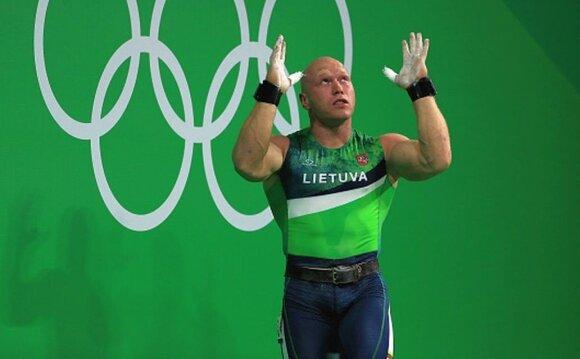 Didžbalis neigia vartojęs dopingą: esu lyderis, o ne pirmokas sunkiojoje atletikoje