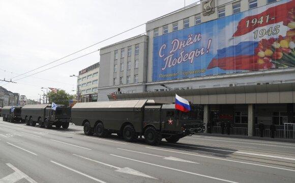 Kremliui – netikėtas iššūkis Estijoje: Rusijos karinį pranašumą atsuko prieš ją pačią