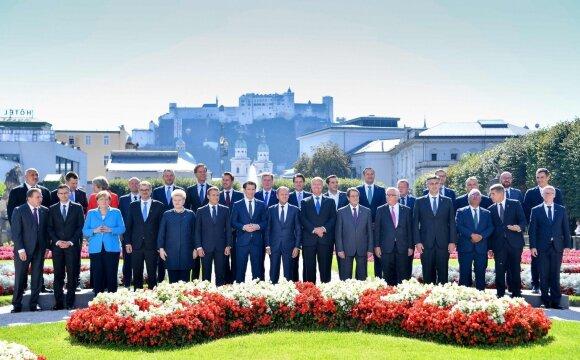 Europos Sąjungos viršūnių susitikimas Zalcburge