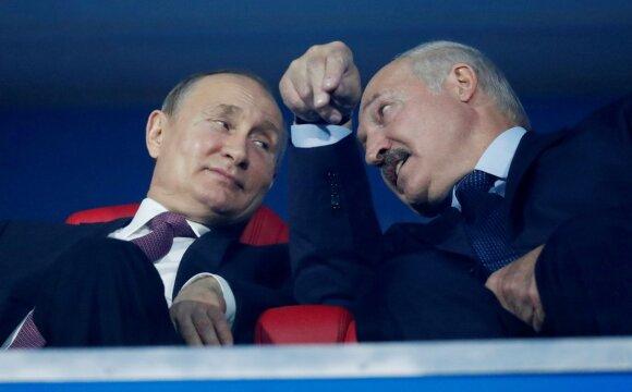 Vladimiras Putinas, Aliaksandras Lukašenka