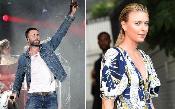 Adamas Levine ir Maria Sharapova