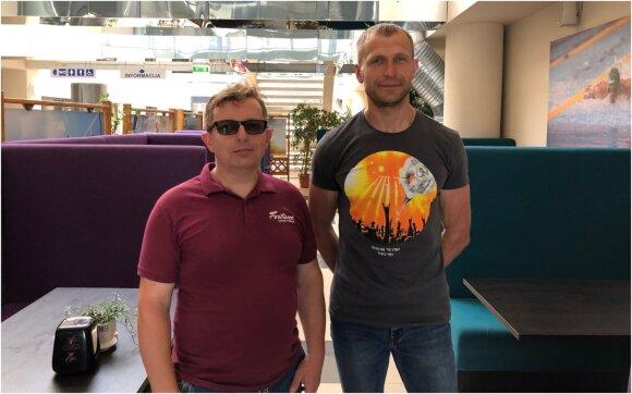 Dmitrijus Krupovičius ir Giedrius Keršys