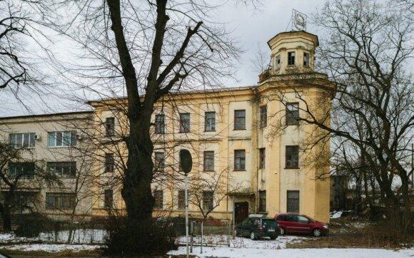 Buv. dalgių fabriko administracinis pastatas Naujojoje Vilnioje