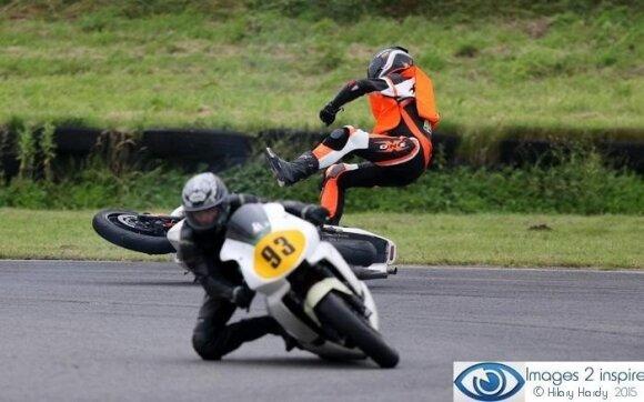 Ievai Baublytei jau yra tekę kristi nuo motociklo
