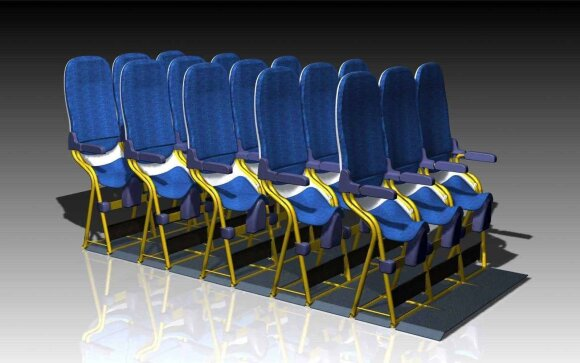 Lėktuvo sėdynės