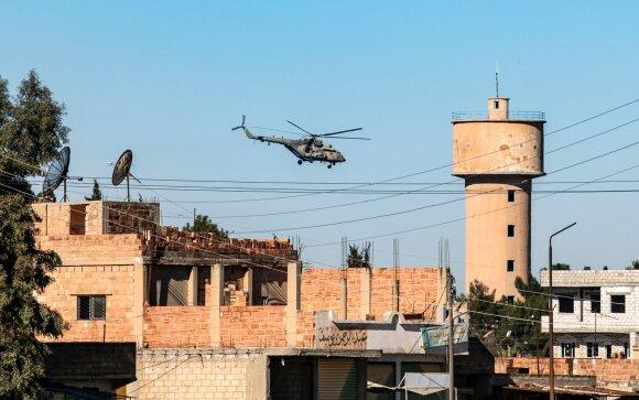 Rusijos sraigtasparnis Sirijoje