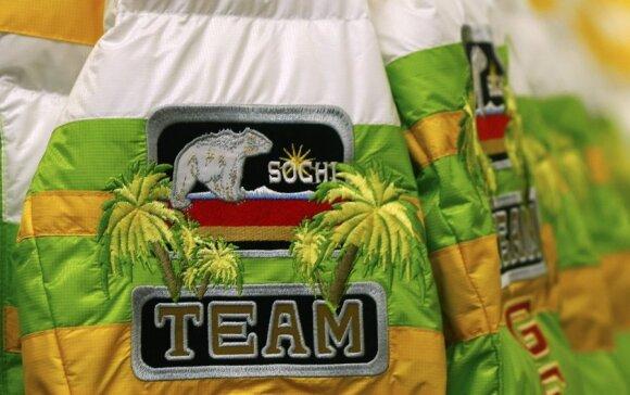 Vokietijos rinktinės Sočio olimpinių žaidynių apranga