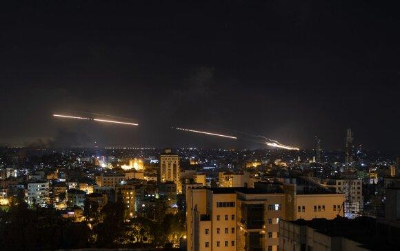 Iš Gazos ruožo leidžiamos raketos