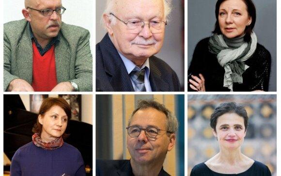 Šių metų Nacionalinių kultūros ir meno premijų laureatai