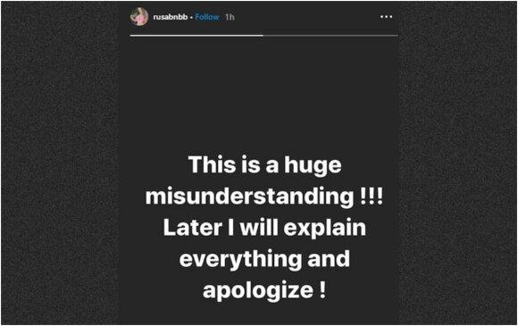 Kris Shettsel įrašas Instagrame