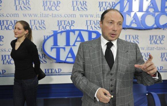 Donata Rimšaitė ir Viačeslavas Aminovas