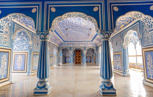Karališki apartamentai Džaipure