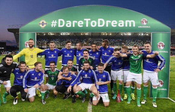 Šiaurės Airijos futbolo rinktinė
