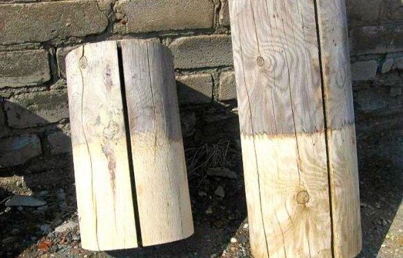 Patamsėjusi mediena