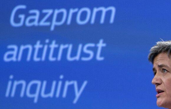 """Gazprom"" tyrimas EK"