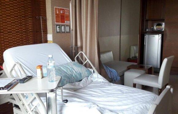 Ligoninės palata Tailande