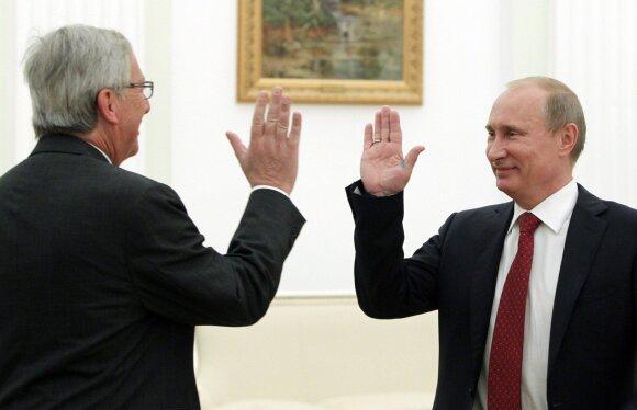 Jeanas Claude'as Junckeris, Vladimiras Putinas