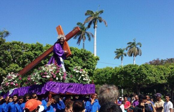 Semana Santa procesijos
