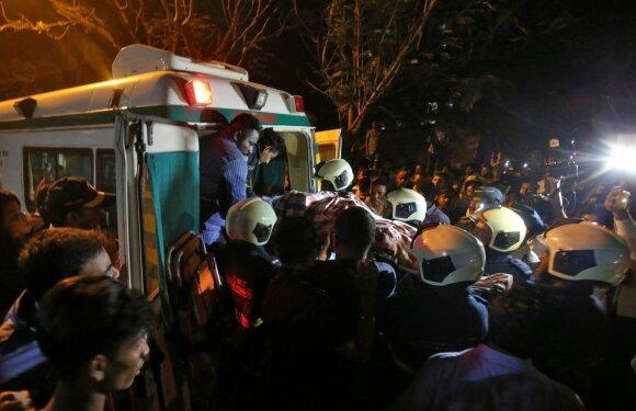 Indijoje per gaisrą gyvenamajame name žuvo penki žmonės
