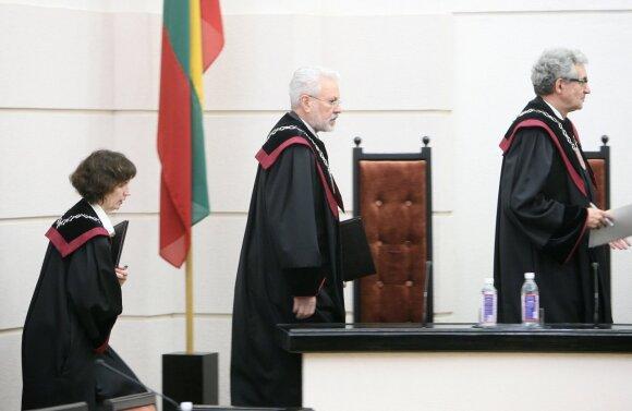 Liudvika Meškauskaitė, Rasa Ragulskytė-Markovienė. Konstitucinio Teismo teisėjų skyrimo džiunglės