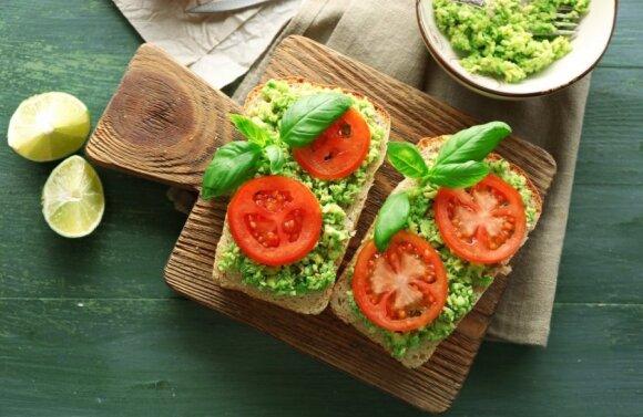 Savaitės sveikų pusryčių planas