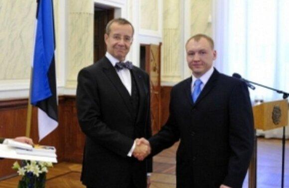 Sulaikytas Estijos pilietis Estonas Kohveris ir Toomas Hendrikas Ilvesas