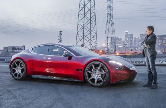 """""""Fisker EMotion"""" elektromobilio prototipas"""