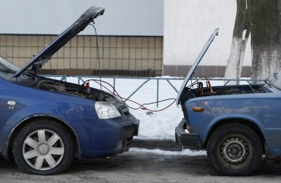 Neužsivedantys automobiliai