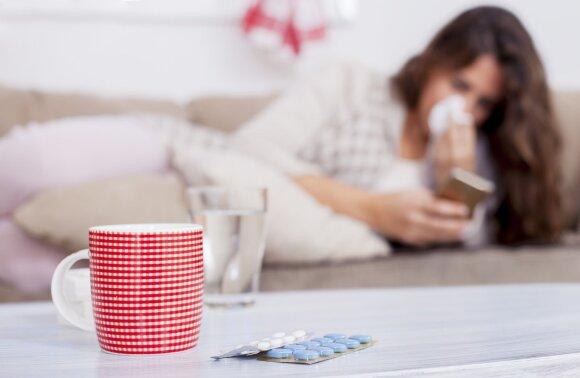 Visas gripo aukas sieja vienas dalykas: imunologė įspėja – 3 dienos yra lemiamos