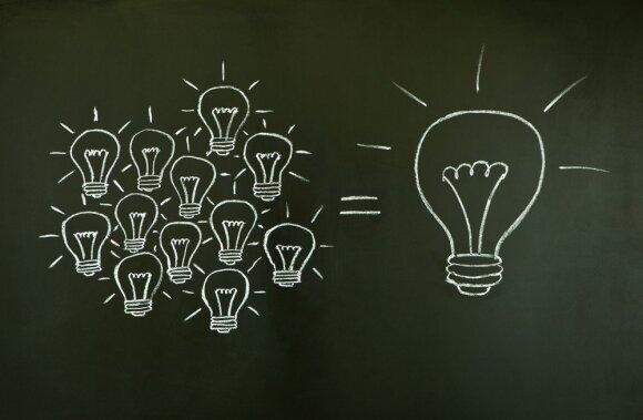 Taupiosios lemputės padeda sutaupyti